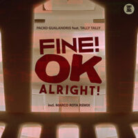 Fine OK Alright - Cover