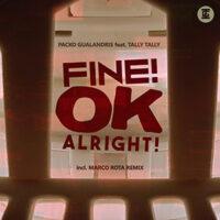Fine OK Alright - Cover