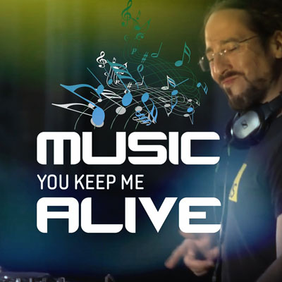 Music You Keep Me Alive Square